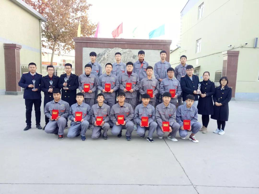 石家庄铁路技工学校技能大赛获奖学生