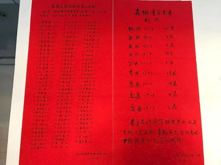石家庄铁路学校3+3大专